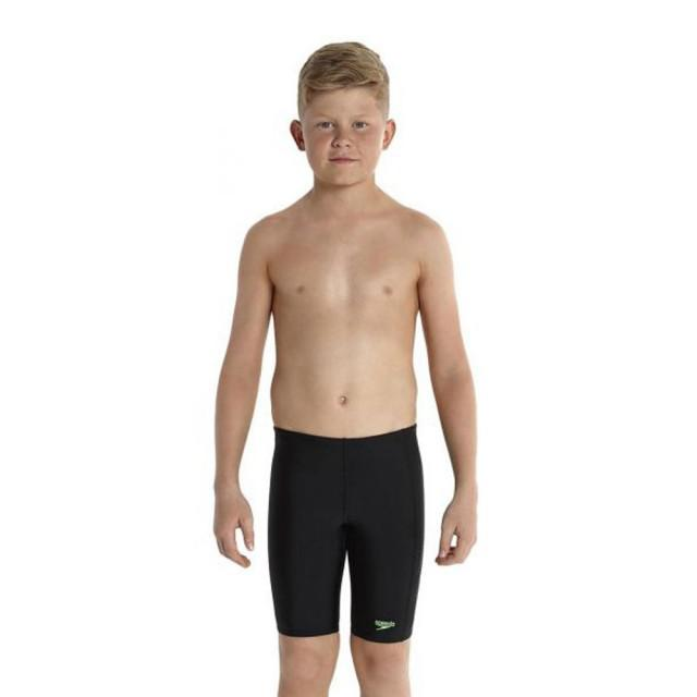 Costum inot baieti Speedo jammer sports Logo PNL Black-big